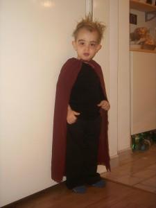 2005: Vampir-Kostüm