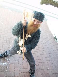 2010: Ötzi-Kostüm