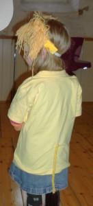 2012: Löwe von hinten