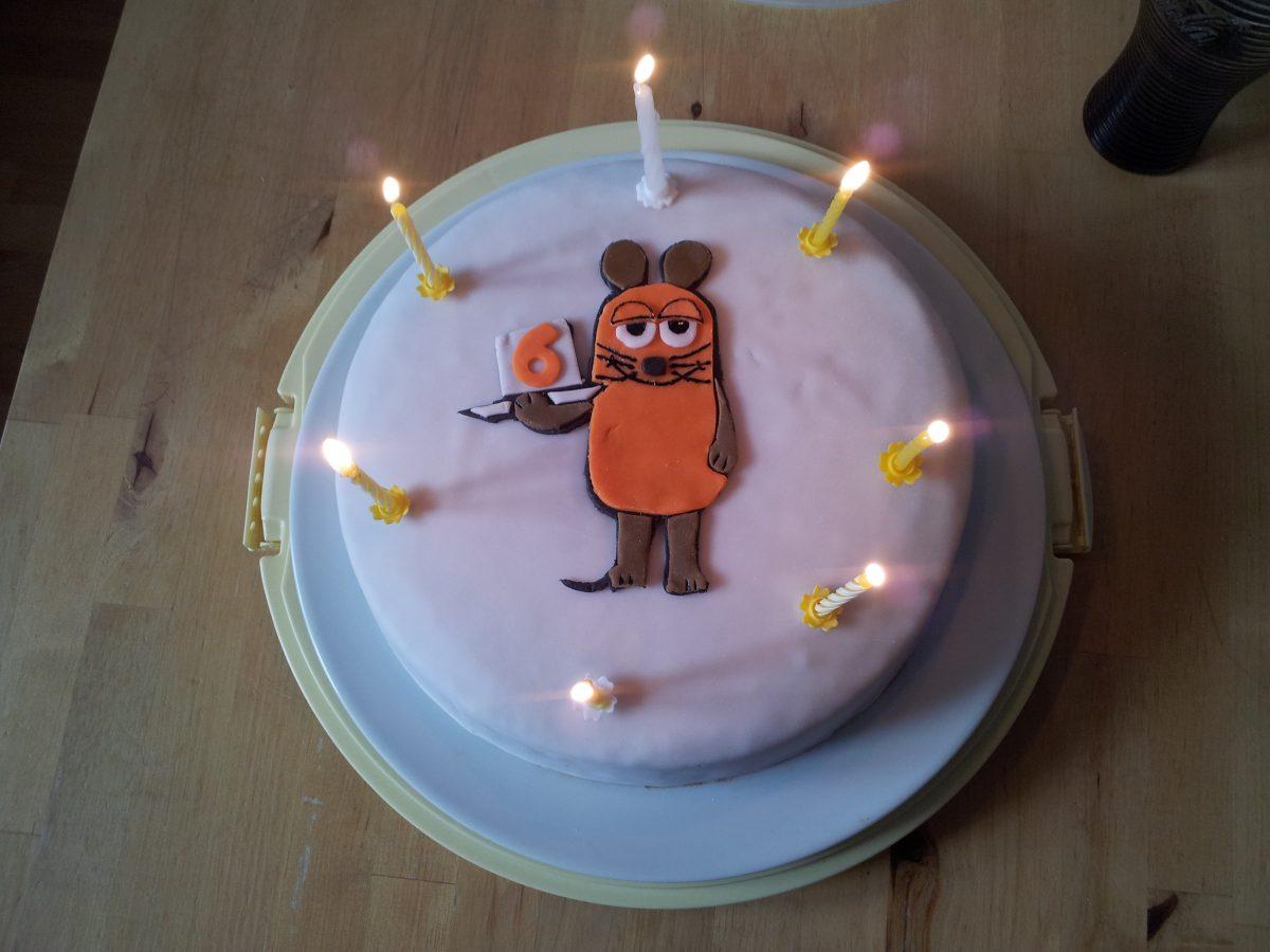 Happy Birthday Kleine Maus Made With Bl 252 Mchen