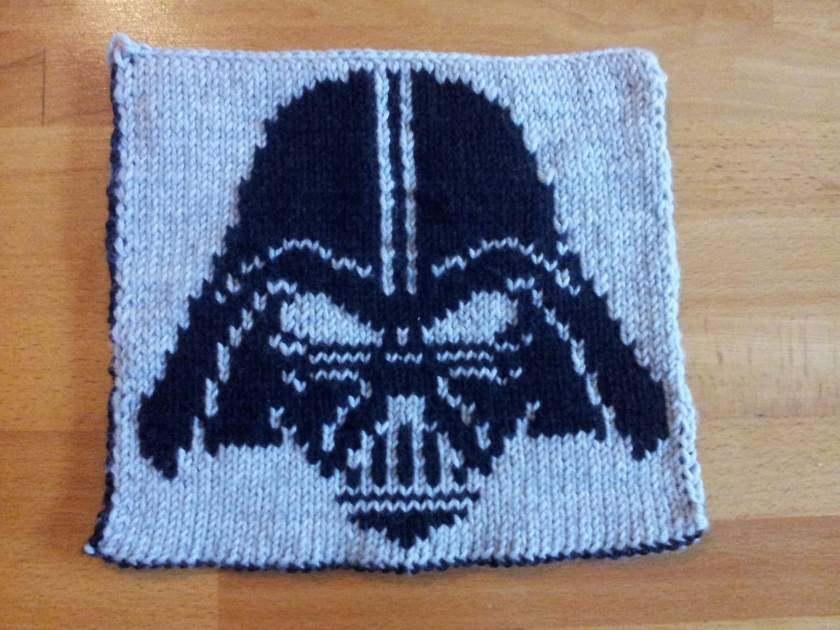 Knit Along 2015 Darth Vader Made With Blümchen