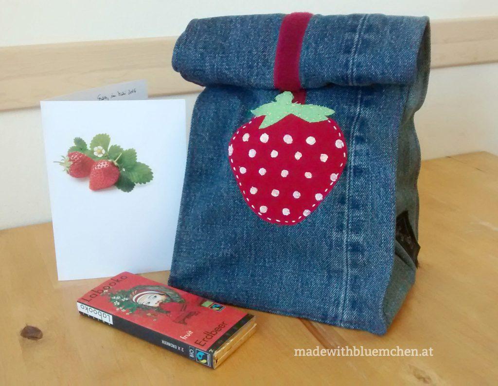 Lunchbag_3 Mal Erdbeer