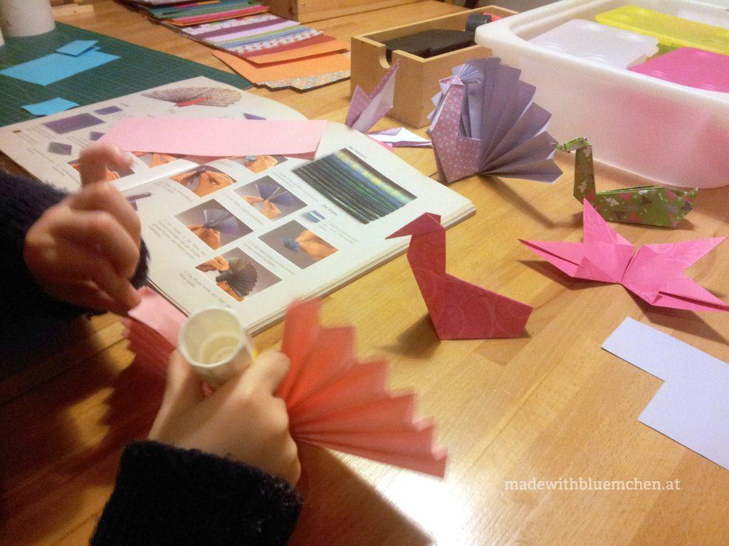 OrigamiPfauen2