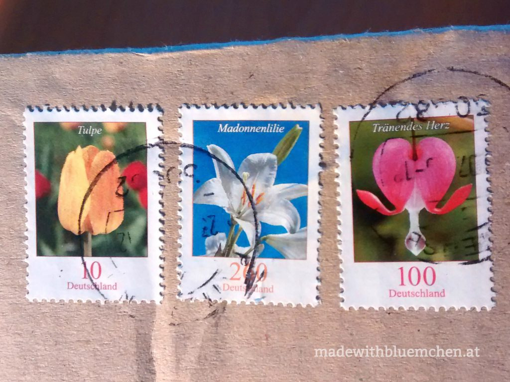 Bluemchen Briefmarken