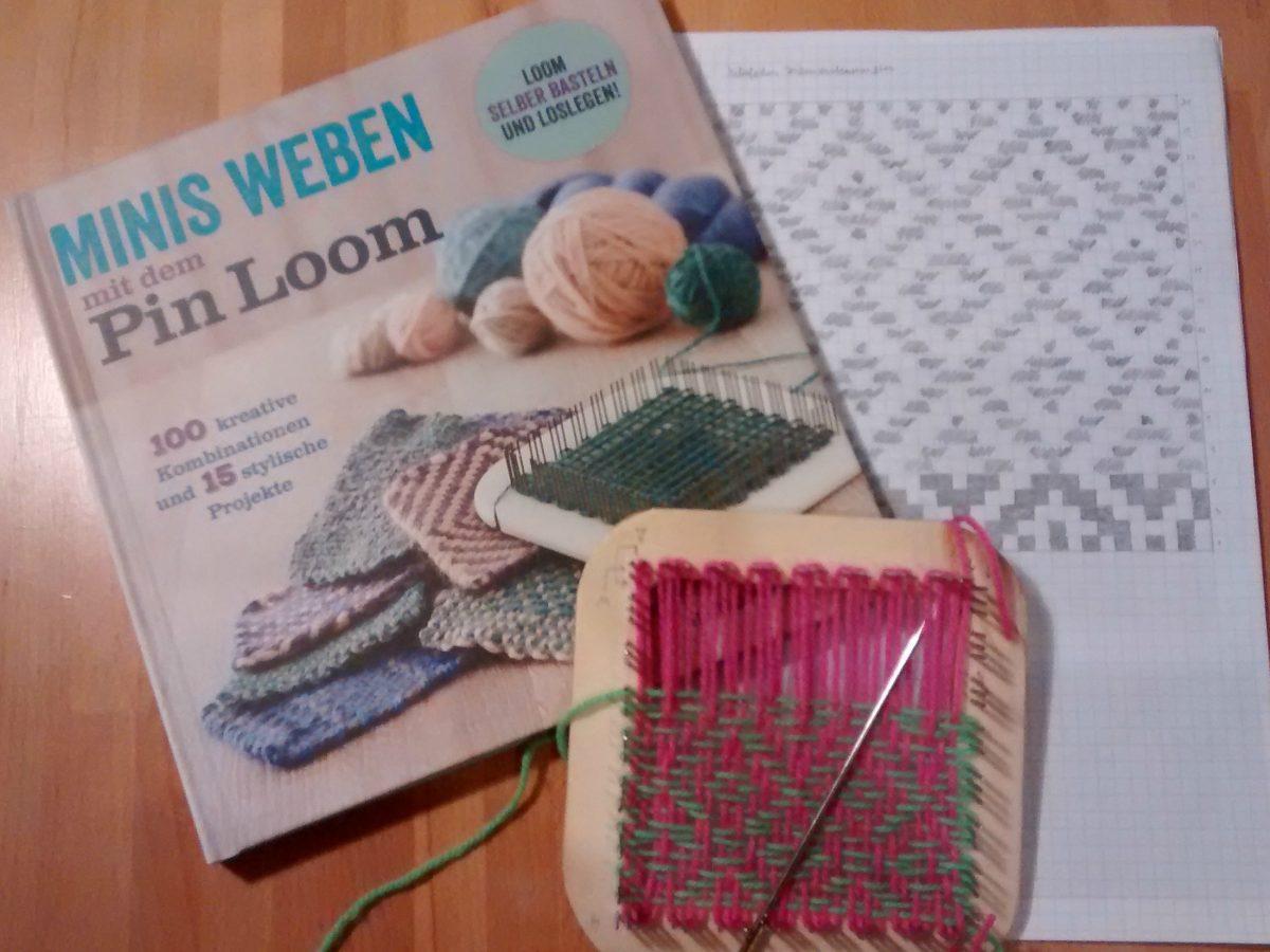 Minis weben mit dem Pin Loom {Rezension} - made with Blümchen