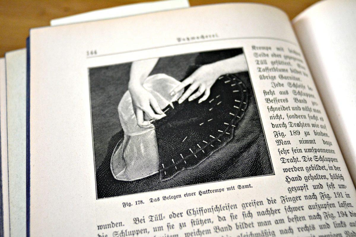 Stoffspielereien im Februar: Kopfputz Inspirationen - made with Blümchen