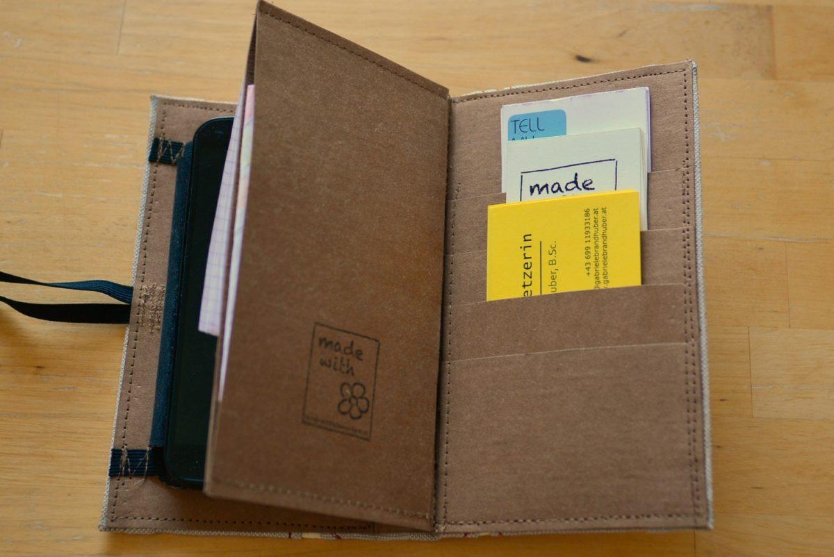 Advanced Visitenkarten Handy Organizer Made With