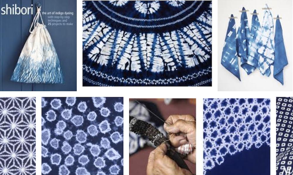Shibori japanische Batik